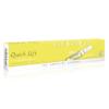 Quick Lift 10er Ampullenpackung der Farbe hellgelb und weiß.