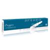 Oxygen 10er Ampullenpackung der Farbe dunkles türkis und weiß.