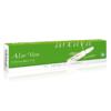 Aloe Vera 10er Ampullenpackung in der Farbe grasgrün und weiß.