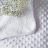Babydecke in weiß 100x75cm