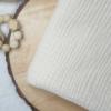 Musselin-Pucktuch vanillefarben