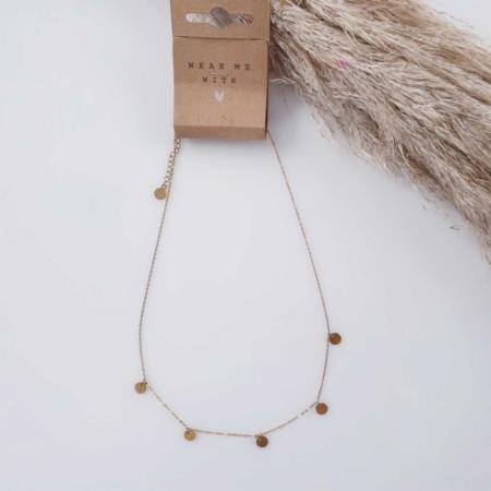 Halskette Gold Münzen